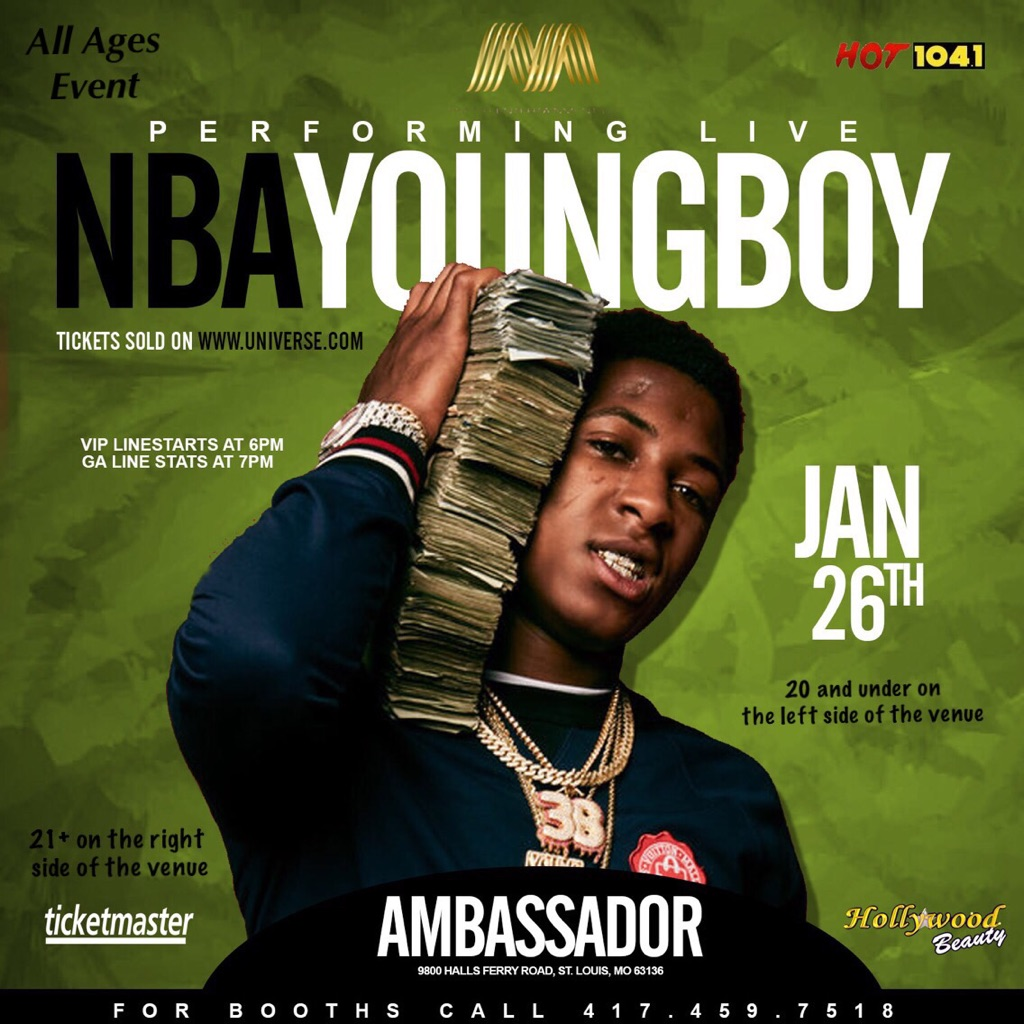 NBA Youngboy in STL