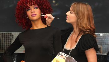 Rihanna Wax Work Unveiled at Madame Tussauds London