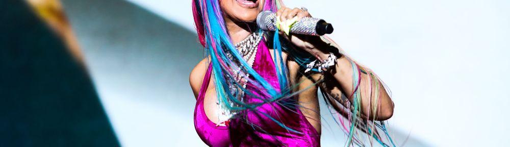 Cardi B at Rolling Loud Miami