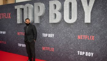 Drake Attends Top Boy Netflix Premier