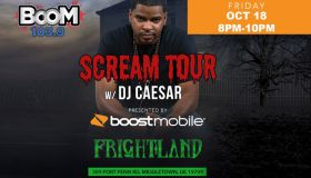 Scream Tour presented by Boost Mobile - Oct 18th at Frightland