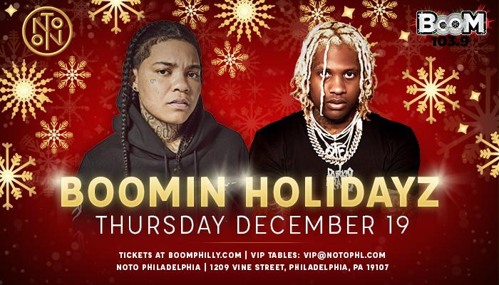 Boomin Holidayz 2019