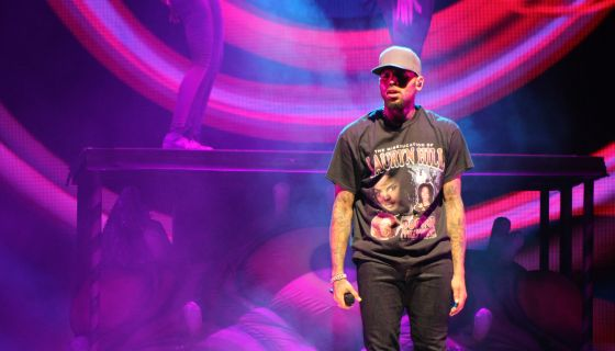 Chris Brown Shares Adorable Picture Of His Baby Son [PHOTOS]