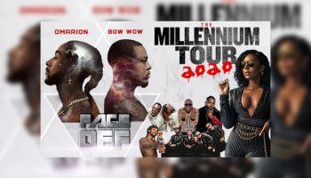 Millennium Tour Updated Graphic