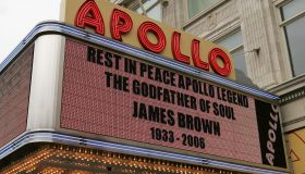 James Brown Viewing At The Apollo Theater