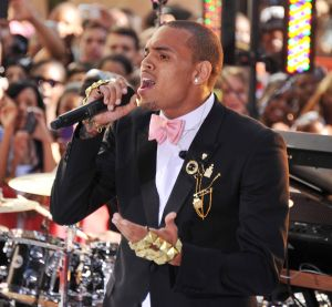 Chris Brown Performs On NBC's 'Today'
