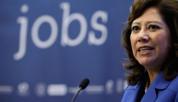 Solis Announces Labor Dep't Partnership With Facebook To Help Americans Find Jobs