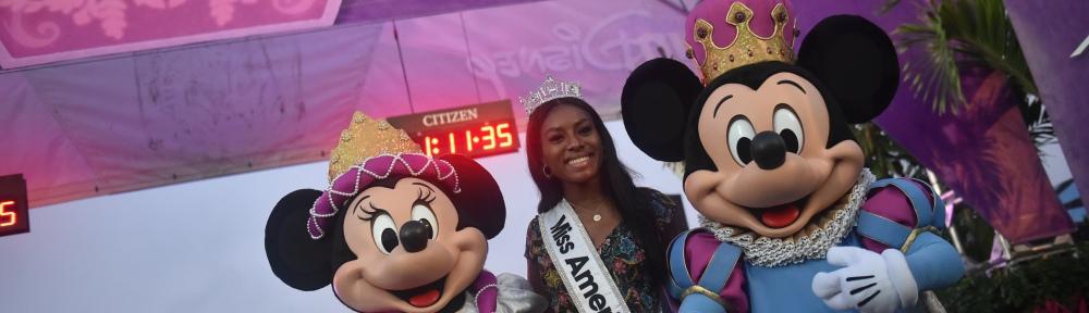 Nia Franklin Joins Disney Princess Half Marathon Weekend