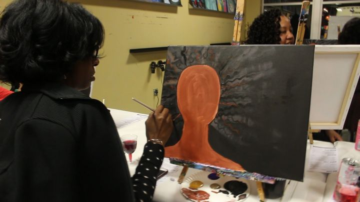 Give Yourself a Painting With a Twist Party
