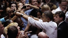 Obama Celebrates His Birthday At DNC Fundraiser In Chicago