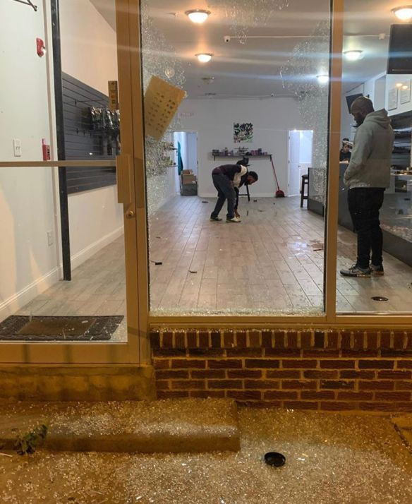 Philly Black Owned Business Destroyed During Riot