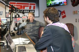 Michael Rapaport at ESPN Richmond