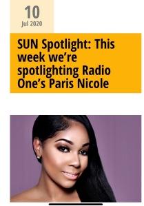 SUN Spotlight Pris Nicole WPHI July 2020