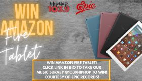 Win Amazon Fire Tablet Courtesy Epic Records