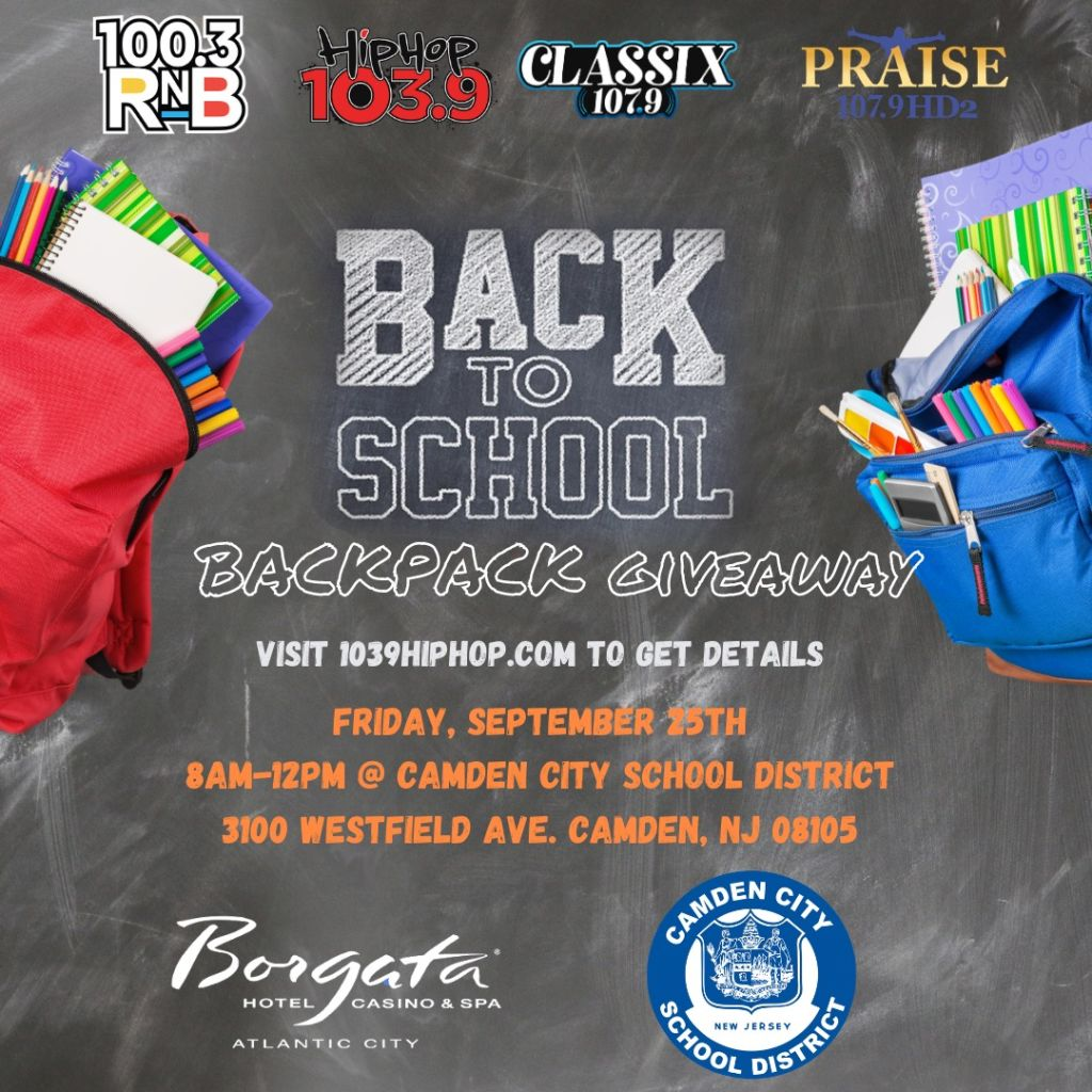 Back To School Backpack Giveaway 9/25