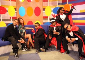 Tank and Pretty Ricky Visit BET's 106 & Park - May 15, 2007