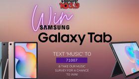 Win Samsung Galaxy Tablet Hip-Hop 103.9