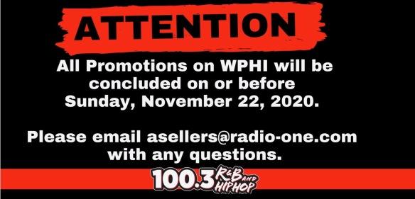 Promotions WPHI Hip-Hop 103.9